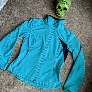 Spyder neptune green zip up jacket S